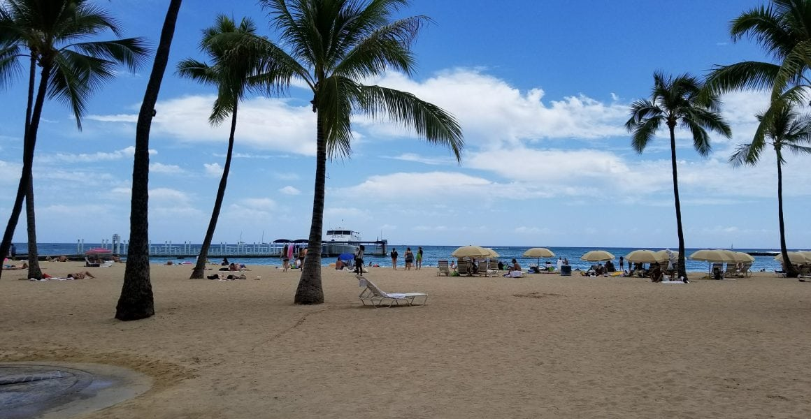 beachside at the hawaiian village in oahu