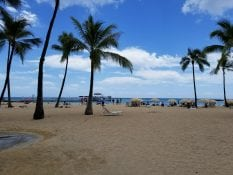 beachside at the hawaiian village in oahu