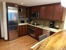 Kitchen in Grand Islander 1 Bedroom