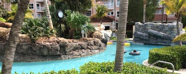 Aruba Surf Club Lazy River Pool