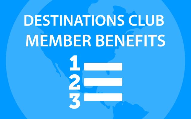 Destination Club Membership Level Benefits