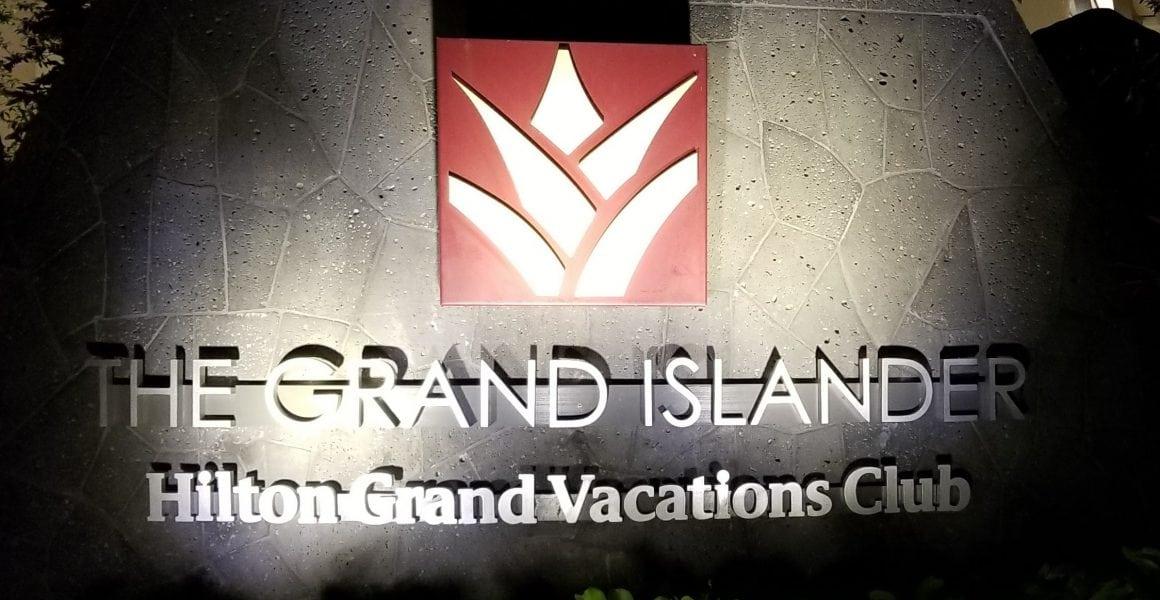 Grand Islander Sign