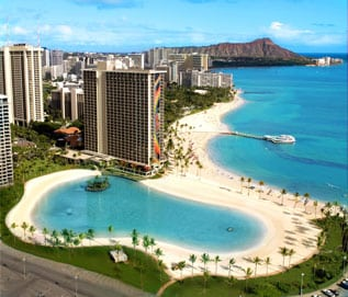 9600 Points at Hilton Hawaiian Village - Lagoon 2 Bed Premier