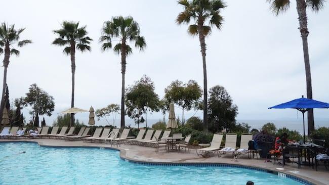 Poolside at Marriott Newport Coast Timeshare