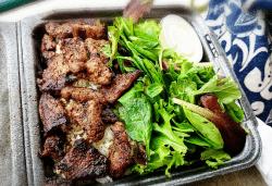 steak shack plate