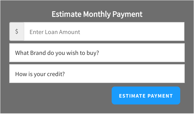 Estimate Monthly Payment