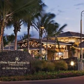 8400 Points at Hilton Bay Club At Waikoloa 2 Bed Plus