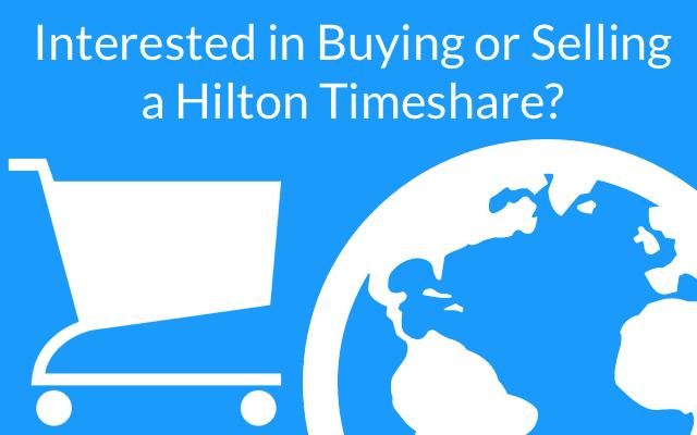 buy hilton timeshare resales