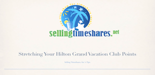 how to use hilton timeshare points