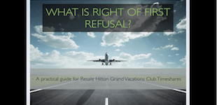 what is right of first refusal banner